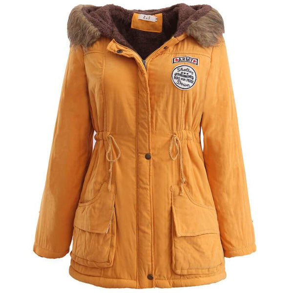 Simple Hollister Padded Parka Jacket