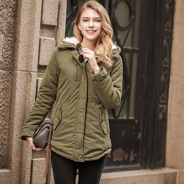 Simple Hollister Padded Jacket