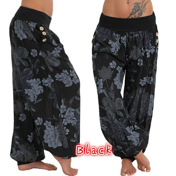 Sexy Loose Plus Size Low Waist Beach Pants