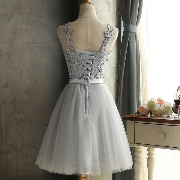 Patchwork Lace Bridemaid Skater Dress