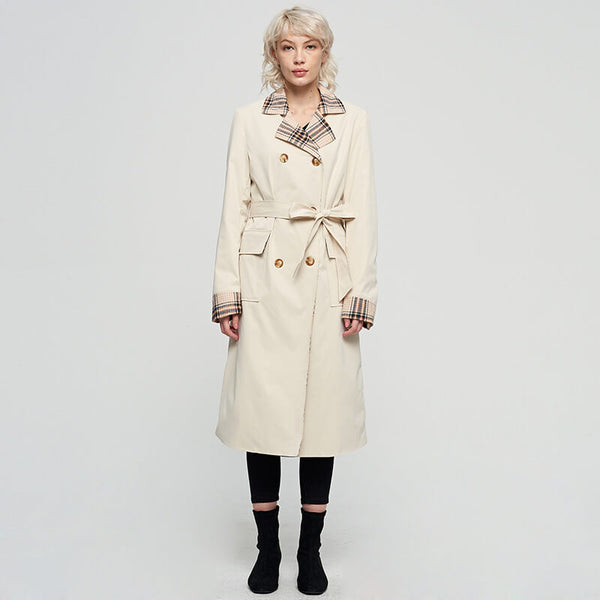 OL Double Breasted Trench Coat