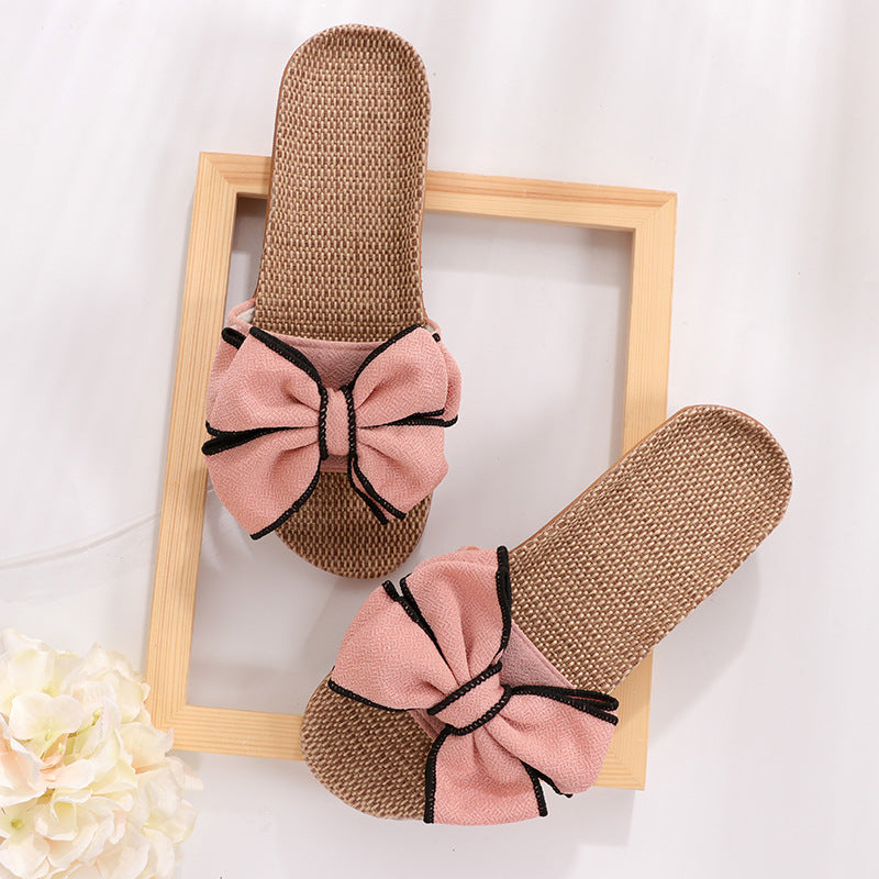 Casual Bow-knot Soft Slippers