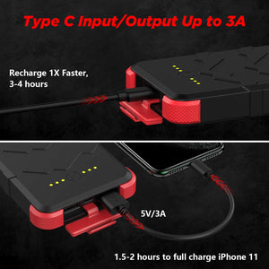 [Upgrade] OUTXE Savage IP67 Waterproof Solar Charger 10000mAh