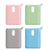 Compatible Outxe 10000mAh Mini Power Bank Case Cover [ Front LED Visible ] Soft Silicone Protective Skin for Outxe Compact Portable Charger 4 Pack