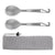 OUTXE Titanium Spork 2-Pack (Spoon Fork) with Bottle Opener Ultra Lightweight (Ti)