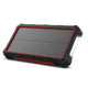 OUTXE Solar Wireless Power Bank 10000mAh Weatherproof Solar Charger with Flashlight