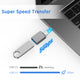 USB C to USB 3.0 Adapter 4-Pack, [Side-by-Side Use] USB C Male to USB Female OTG Adapter Compatible with MacBook Pro 2020 and Before, MacBook Air 2020 2019, iPad Pro 2020