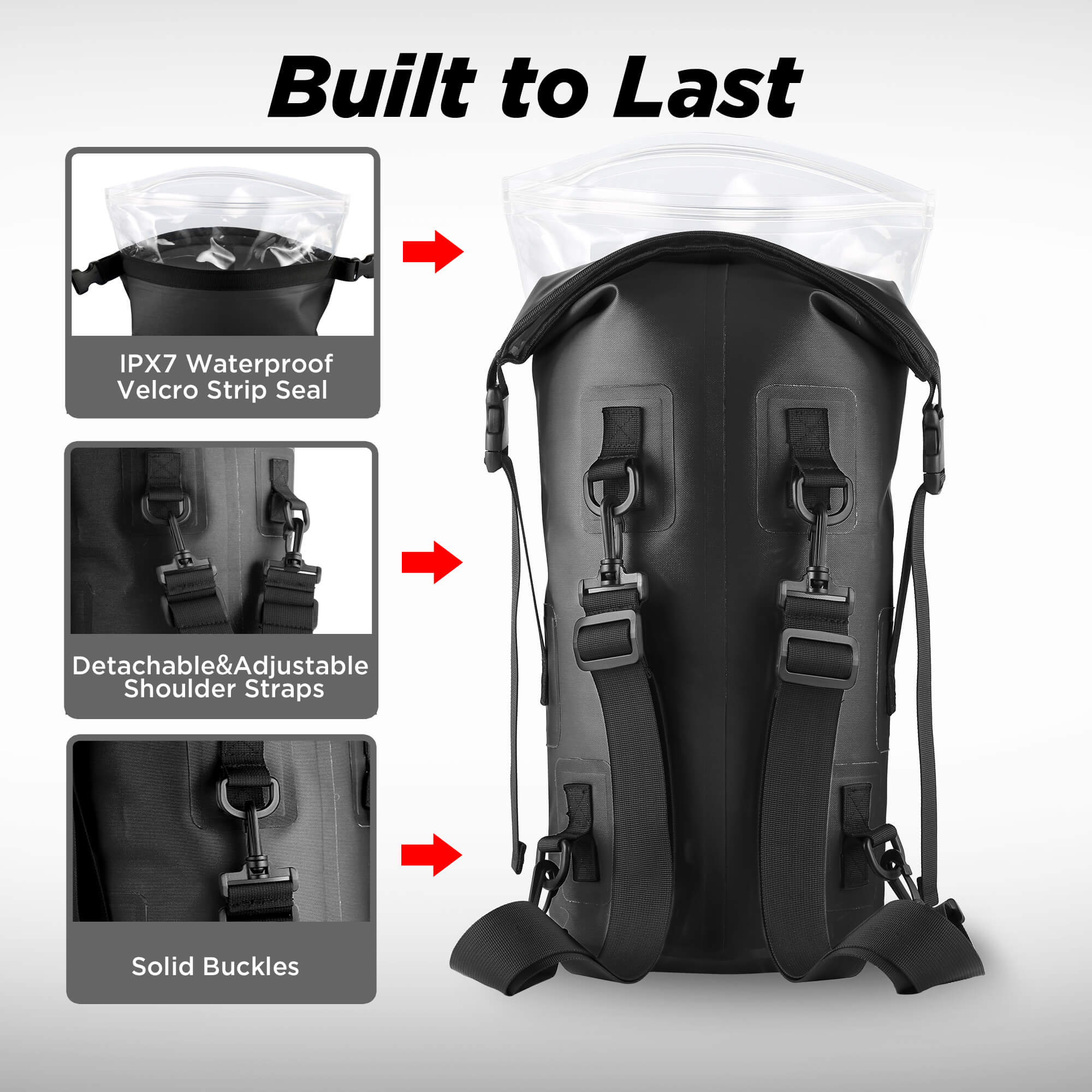 9be19d1950 ... Waterproof TPU Dry Bag Backpack 10L · outxe dry bag 10l · outxe drysack  10l