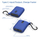 OUTXE Mini Power Bank 10000mAh, Portable Charger Lightweight with Dual Output Ports