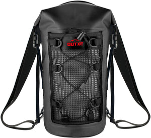 OUTXE 100% Waterproof TPU Dry Bag Backpack 20L/10L