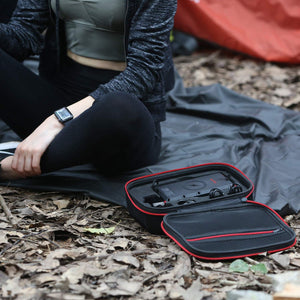 OUTXE Hard EVA Storage Travel Case for Outxe W20 Solar Power Bank on Kickstarter, for Laptop Power Supply, Hard Drive, Universal Travel Pouch Bag