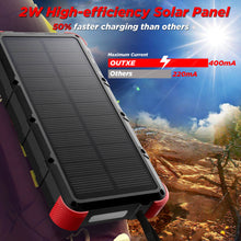 outxe savage solar power bank
