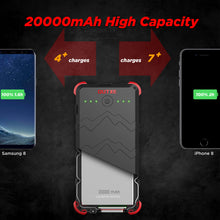outxe savage outdoor power bank 20000