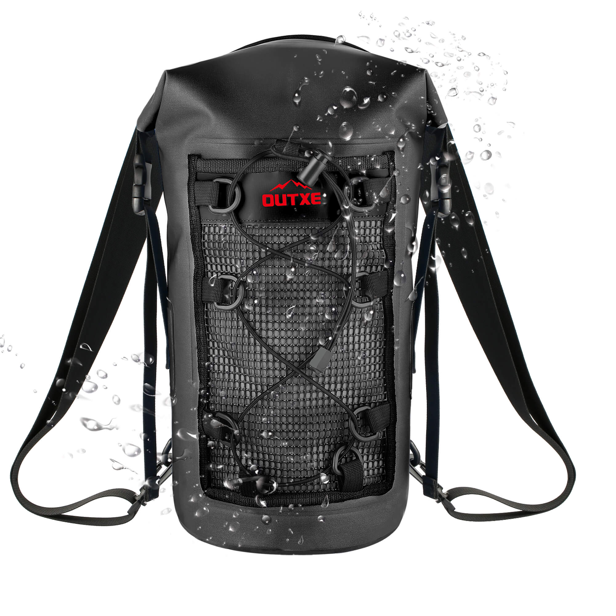 edc7f52f96 OUTXE 100% Waterproof TPU Dry Bag Backpack 10L