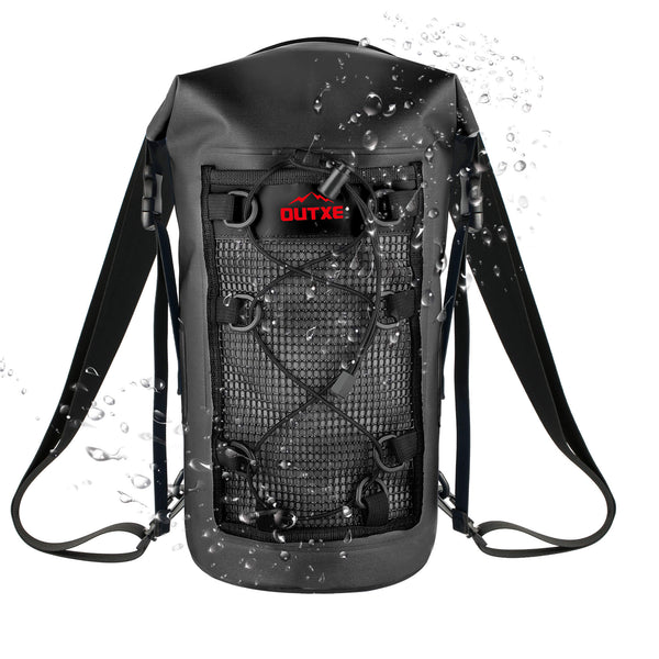 OUTXE 100% Waterproof TPU Dry Bag Backpack 10L