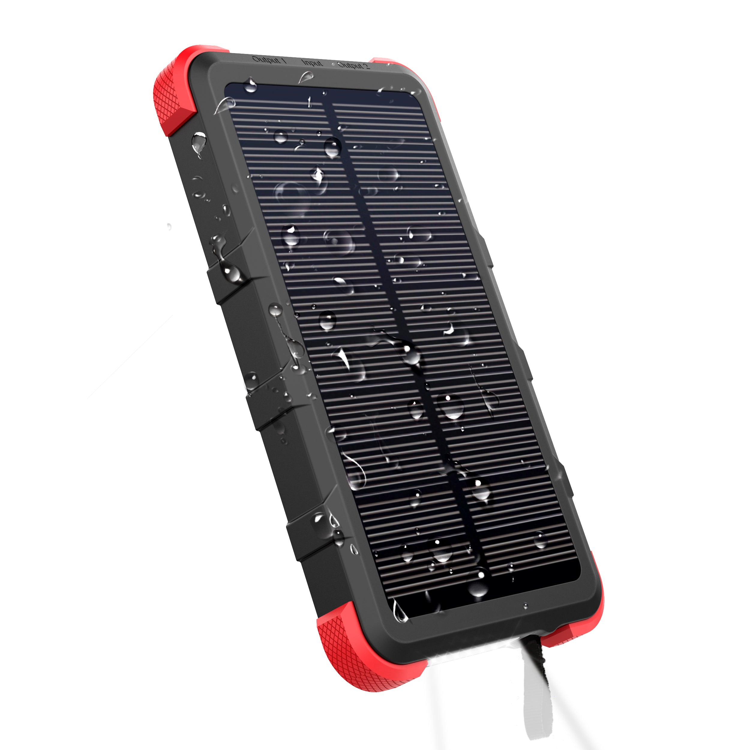 Upgrade Outxe Savage Solar Charger 10000mah Ip67