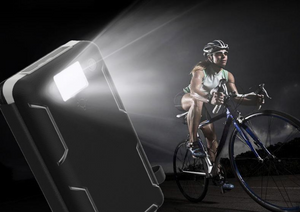solar charger with flashlight