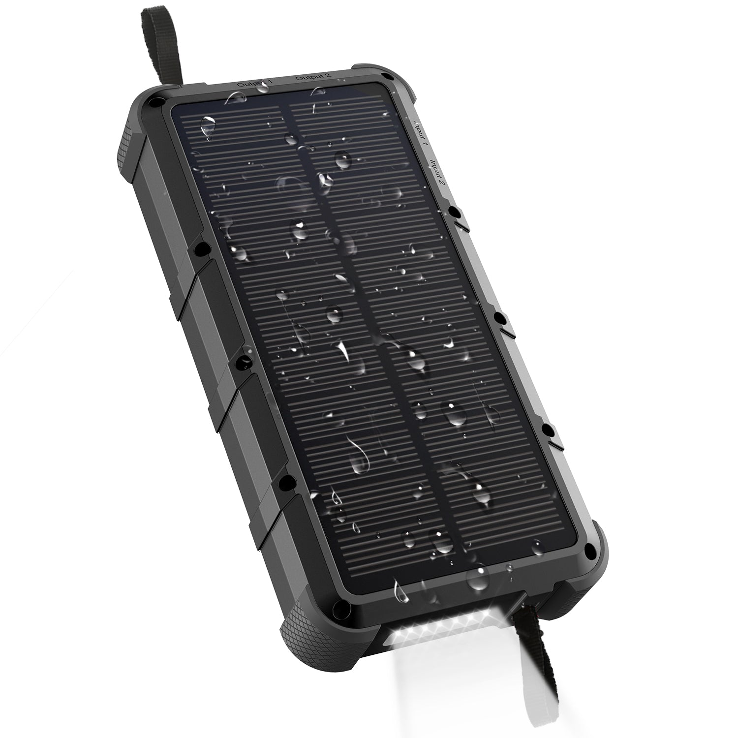 Quick Charge Outxe Savage 20000mah Solar Charger 4a Dual Input Type C And Usb