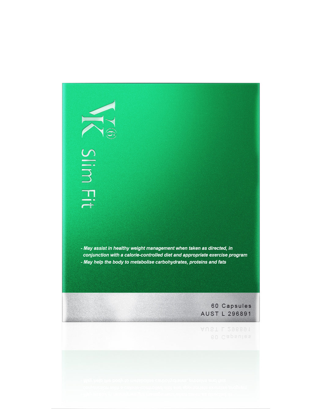 VK6 Slim Fit Appetite Control & Metabolism & Energy Booster Supplement Vitamin Green Tea Australia