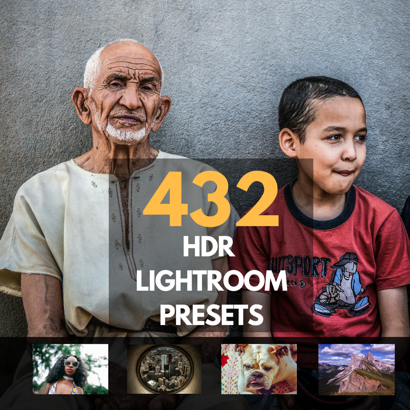 432 HDR VIP Lightroom Presets