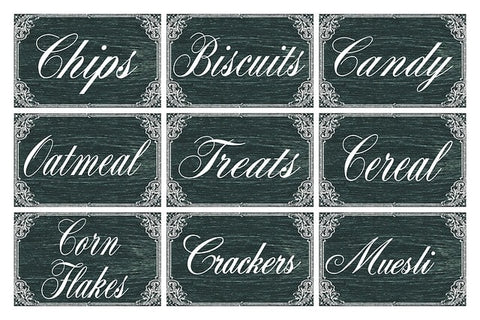 Chalkboard Stickers - Teacher Gift Ideas