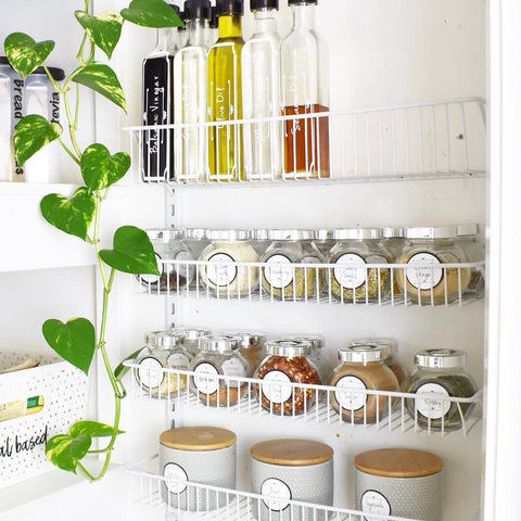 9 Kitchen Space Saving Ideas To Organise Small Kitchen Pretty Little Designs Pty Ltd