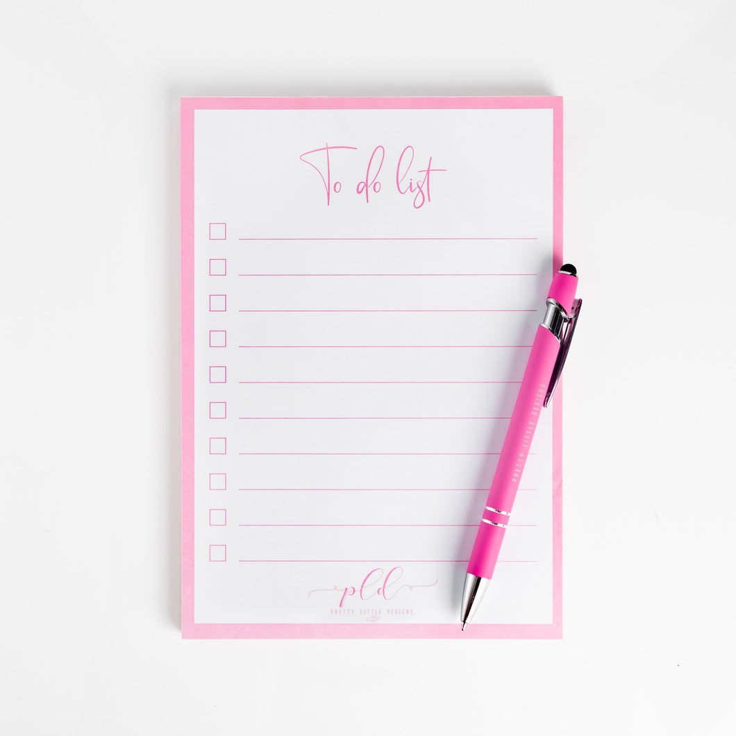 A5 To do List Pad