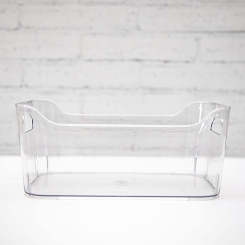 Clear Plastic Storage Tub - 3 sizes