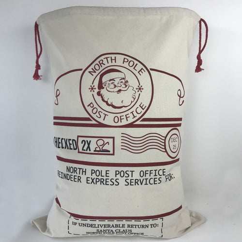 Santa Sacks - North Pole Post Office