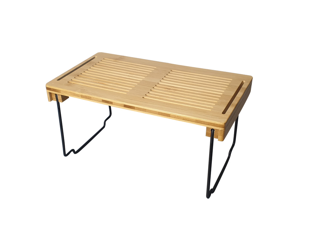 Bamboo Collapsible Shelf