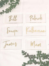 Personlasied Acrylic Name Place Cards