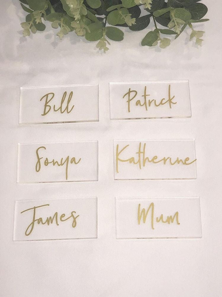 Gold Pantry Labels