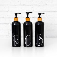 Initial Luxe Bathroom Bottle Labels Only
