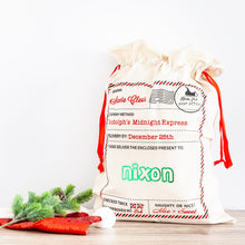 Personalised Christmas Santa Sacks - Rudolphs Midnight Express