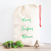 Merry Christmas Personalised Santa Sacks