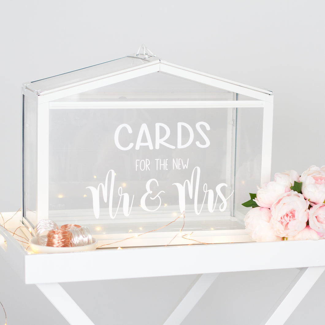 Wedding Wishing Well.Cards For The New Mr Mrs