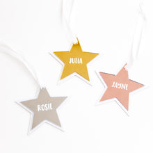 Personalised Star Christmas Bauble