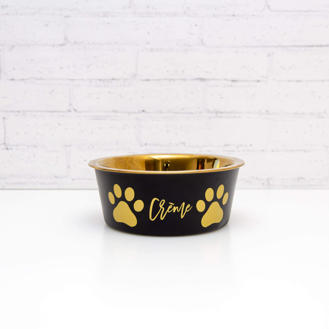 Pet Bowl Name Label