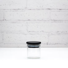 PLD Black Bamboo Glass Spice Jars - 75ml, 100ml & 200ml
