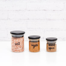 Custom Spice Jar Labels (Single and Bulk Packs)