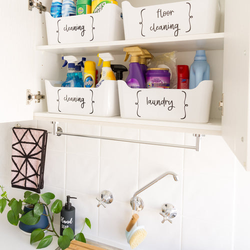 FGB - Storage Labels for Kitchen, Pantries, Toy Boxes or Anywhere