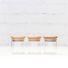 PLD Glass Bamboo Herb & Spice Jar - 75ml