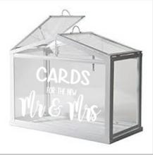 Glass Wishing Well Decal - New Mr & Mrs