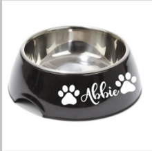 Pet Bowl Name Label - Pretty Little Designs
