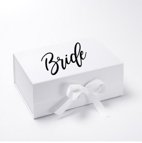 Bridesmaid Boxes Decals - Vinyl Stickers