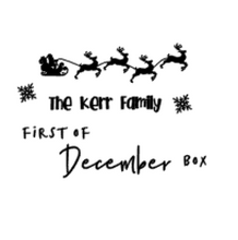 Personalised Christmas Eve Box / Crate Decal