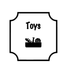 Toy Storage Labels - Silhouette