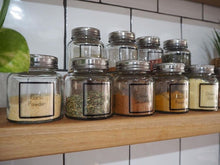 Spice Jar Label Packs - Lotus