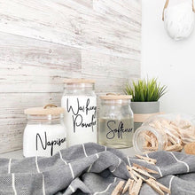 Tulip Laundry Label Sets - Kmart Jars