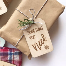 Something you Need, Want, Read & Wear Tags